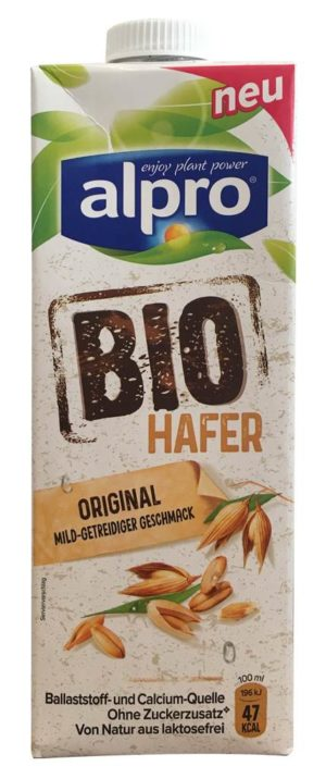 alpro Bio Hafer Original