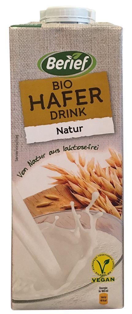 Berief Bio Haferdrink Natur 10/2018