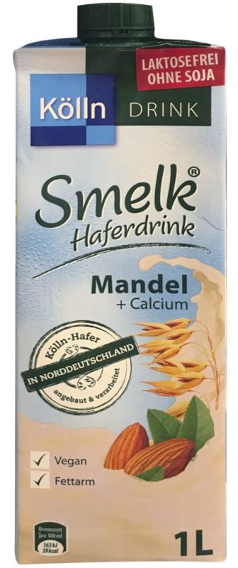 Koelln Smelk Haferdrink Mandel +Calcium