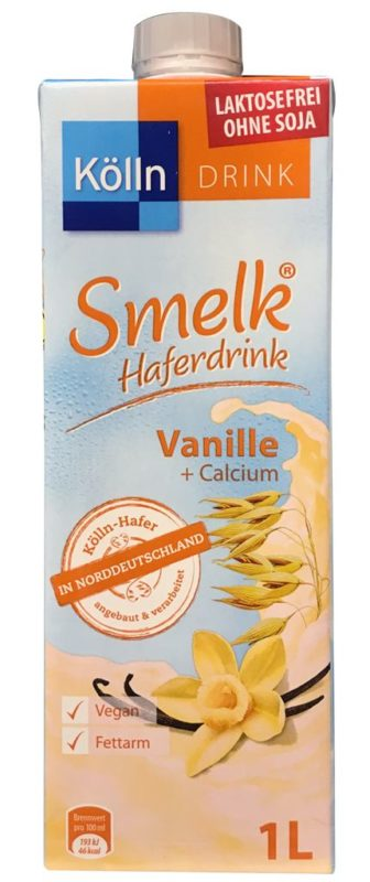 Koelln Smelk Haferdrink Vanille +Calcium