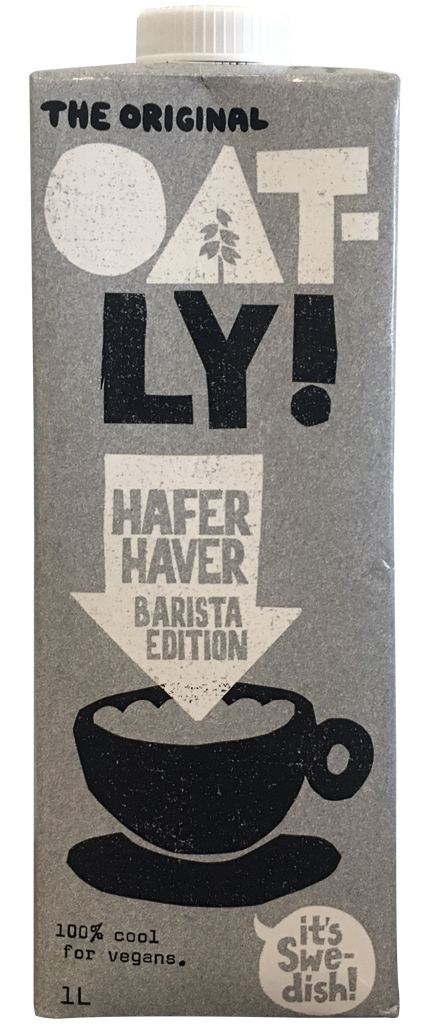Oatly Hafer Barista Edition
