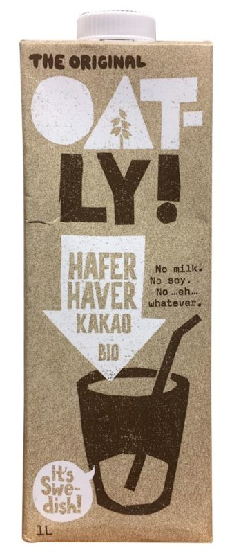 Oatly Hafer Kakao Bio