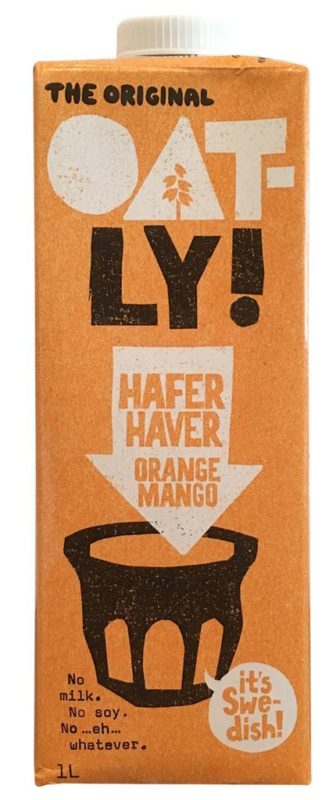 Oatly Hafer Orange Mango
