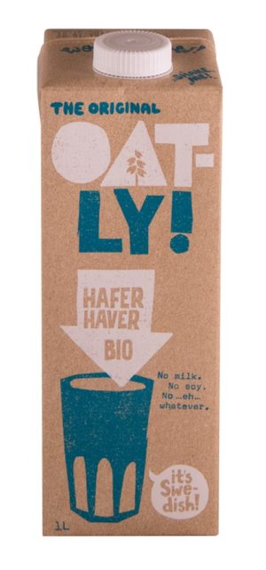 Oatly Hafer