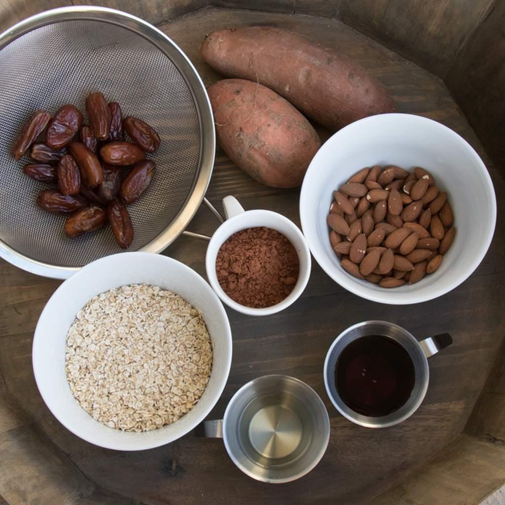 Zutaten Süßkartoffel-Brownies