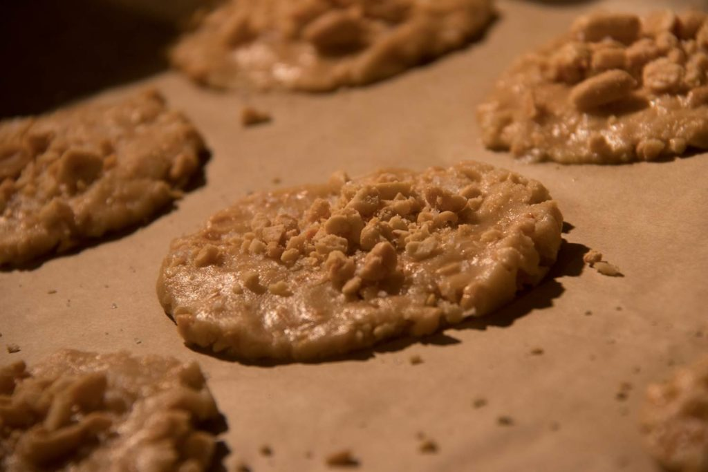Wer Erdnüsse mag wird diese Cookies lieben!