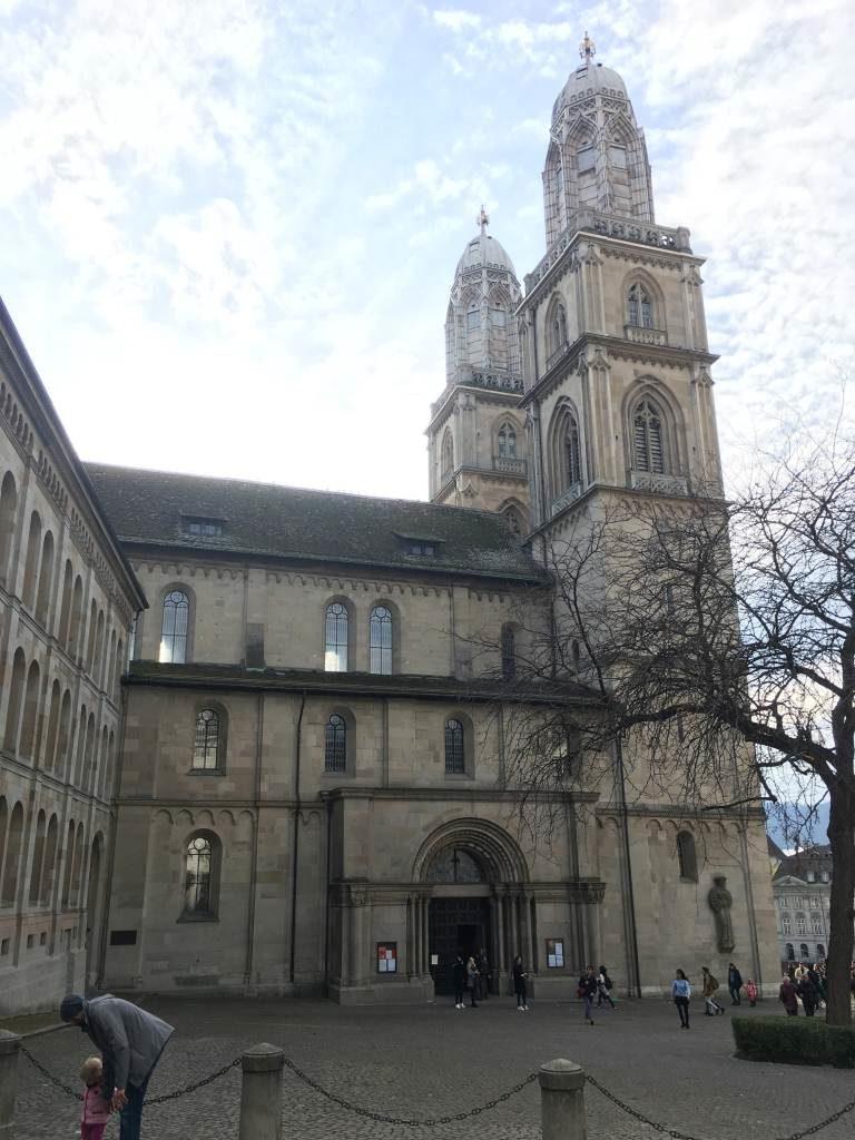Großmünster in Zürich