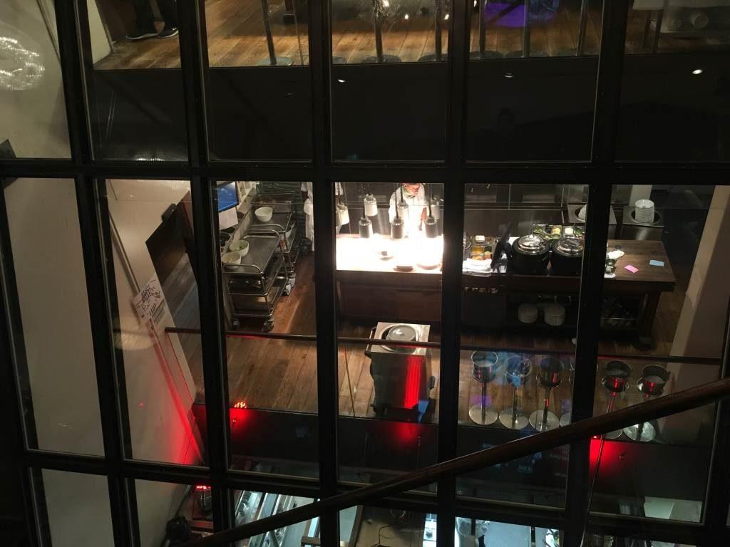 Einblick in die Hiltl-Küche