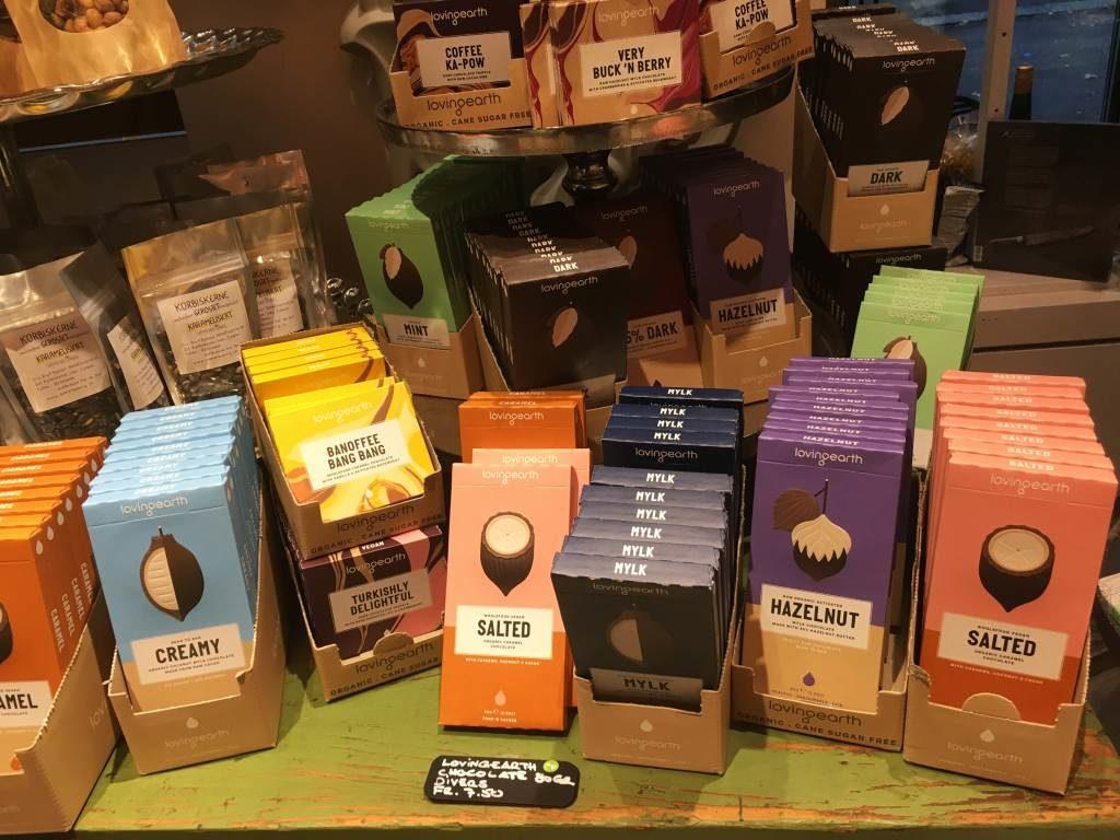 Loving Earth Schokolade im Hitlt Laden entdeckt!
