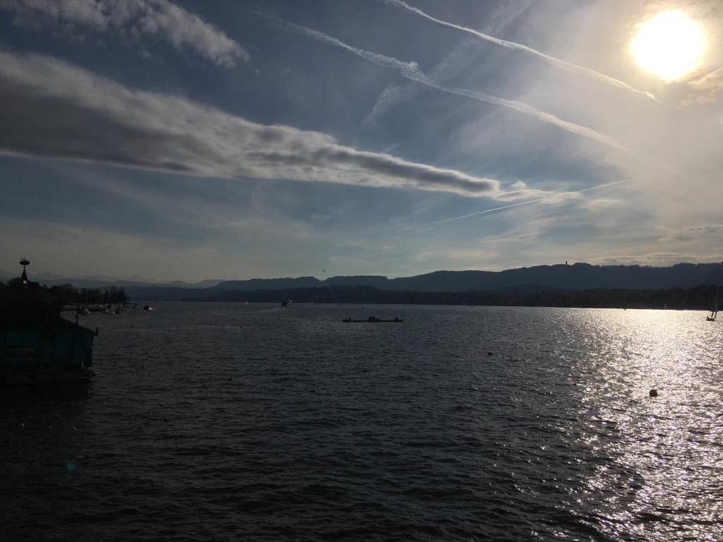 Ausblick auf den Zürich-See