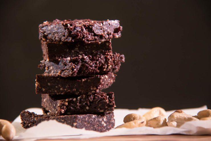 Mmmmh, Brownies sind fertig!