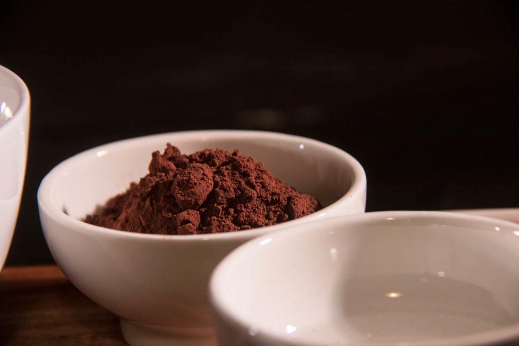 Echter roher Kakao