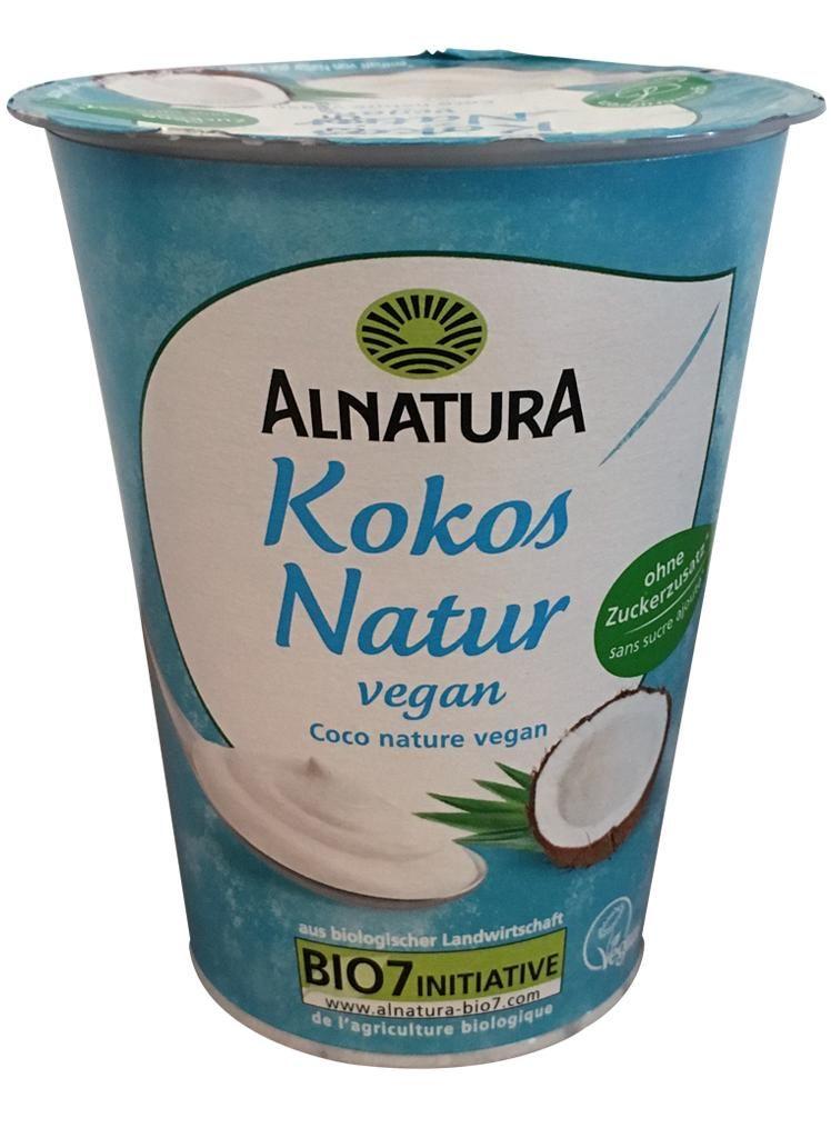 nfnf vegane Joghurtalternativen Alnatura Kokos Natur