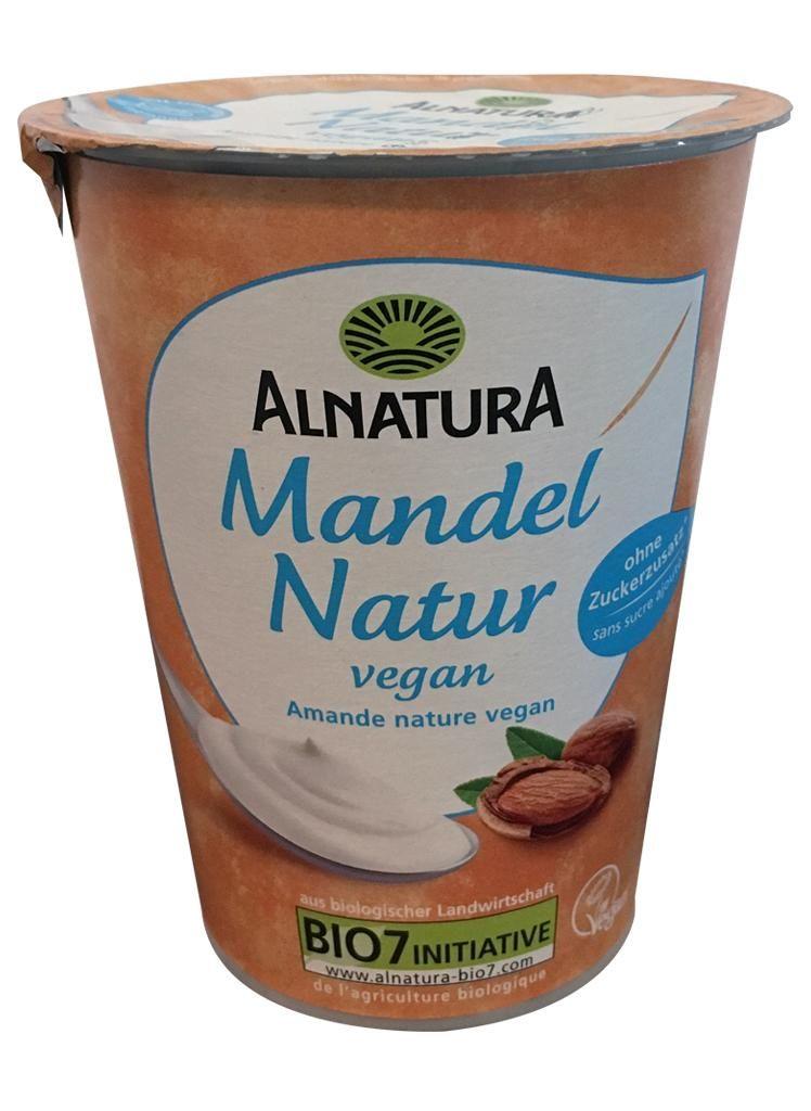 nfnf vegane Joghurtalternativen Alnatura Mandel Natur