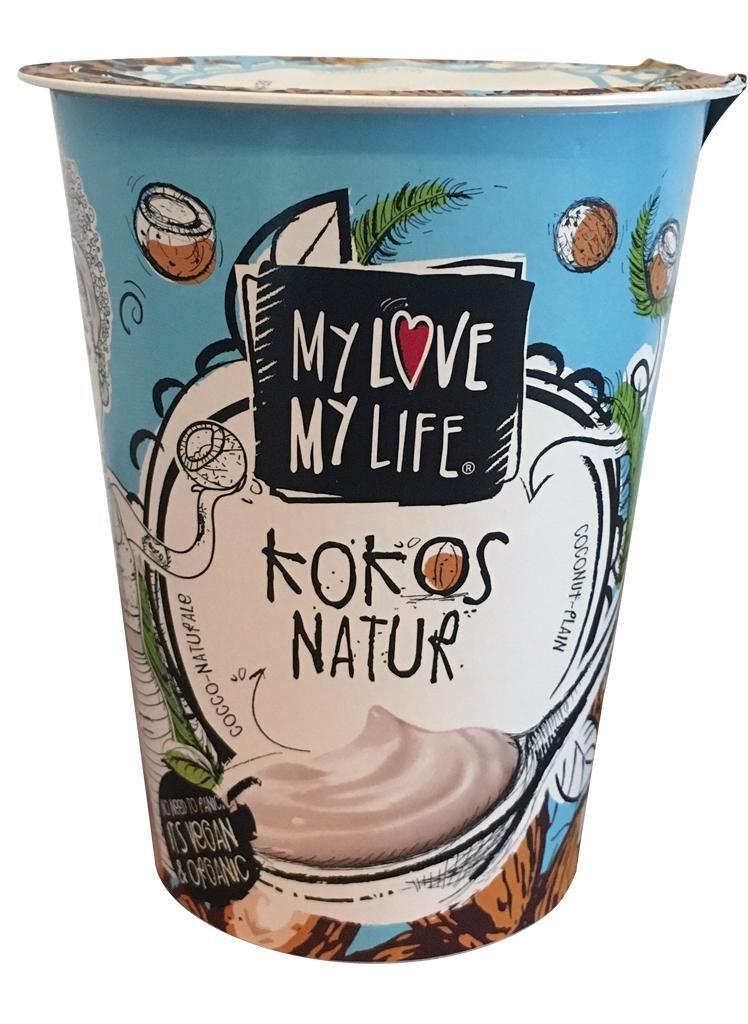 nfnf vegane Joghurtalternativen MyLove MyLife Kokos Natur