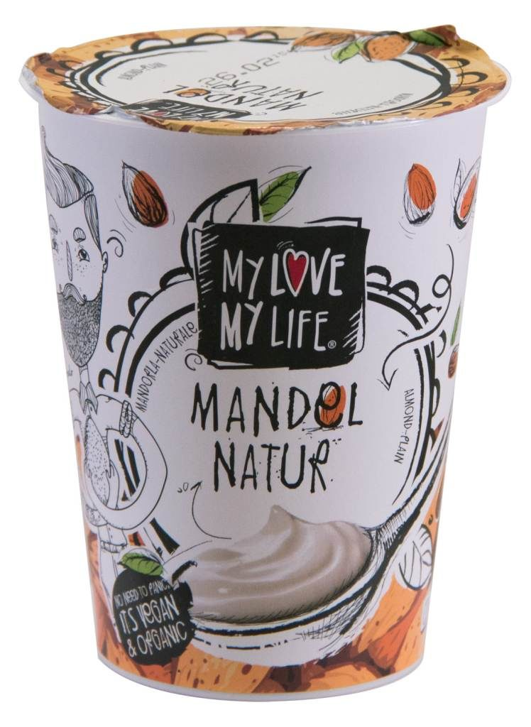 nfnf vegane Joghurtalternativen MyLove MyLife Mandel Natur