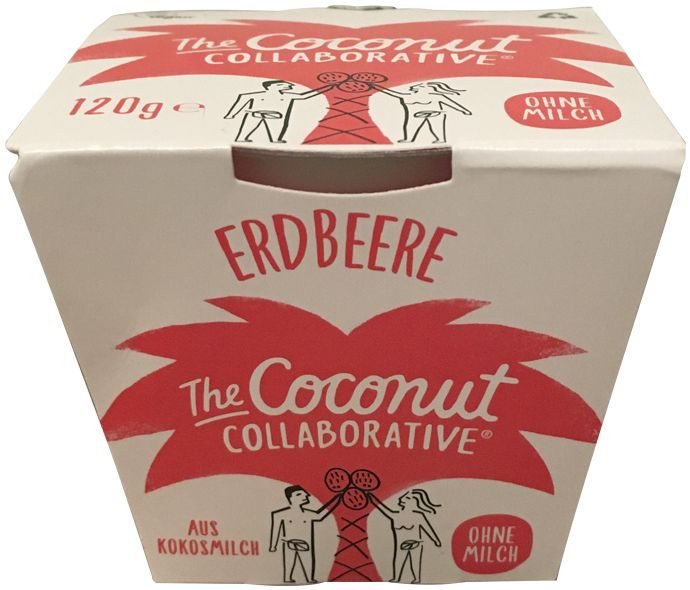 nfnf vegane Joghurtalternativen The Coconut Collaborative Erdbeere