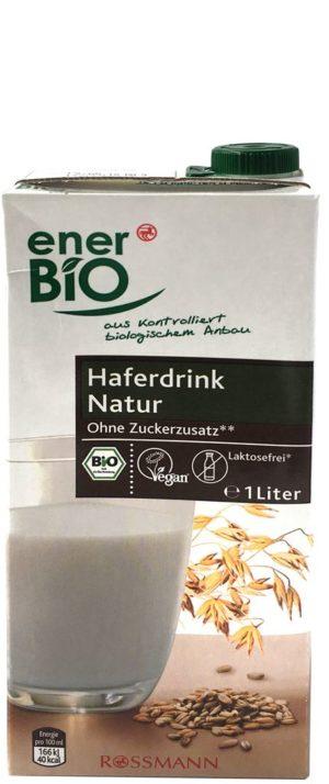 enerBio Haferdrink Natur (Rossmann)