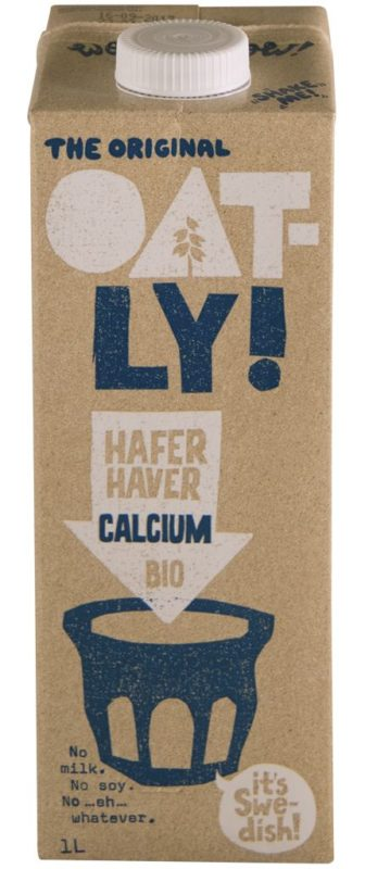 Oatly Hafer Calcium Bio