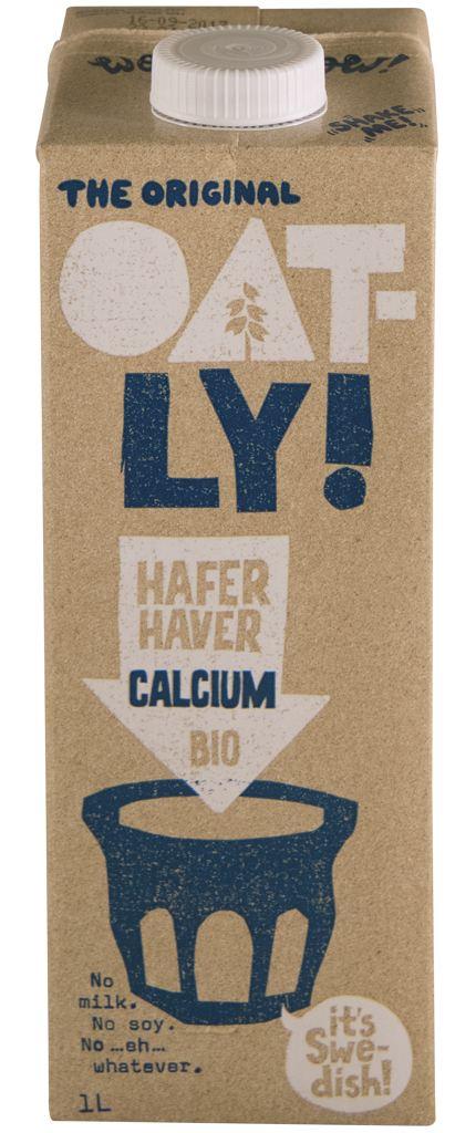 Oatly Hafer Calcium Bio