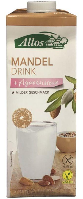 Allos Mandeldrink + Agavensirup