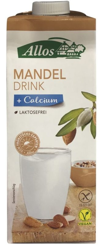 Allos Mandeldrink + Calcium