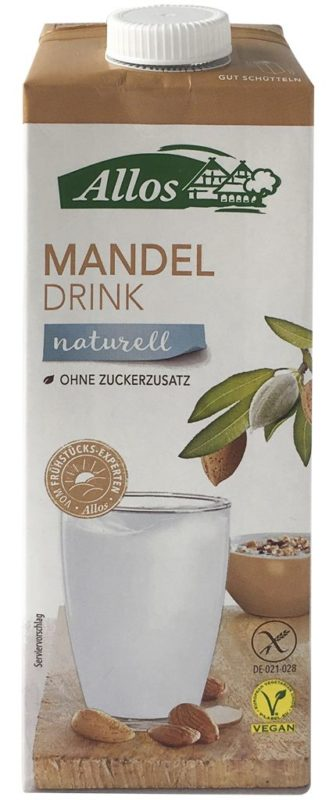 Allos Mandeldrink naturell