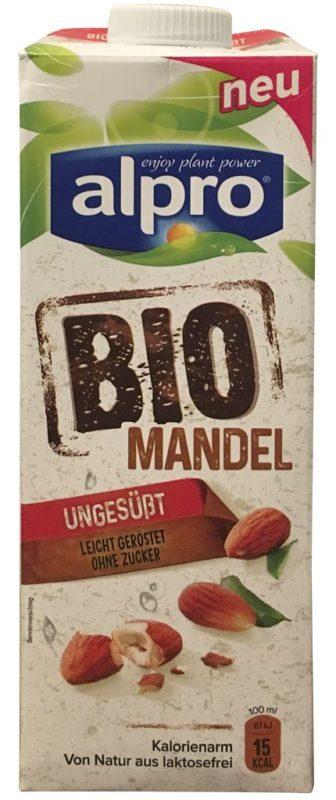 alpro Bio Mandel ungesüßt