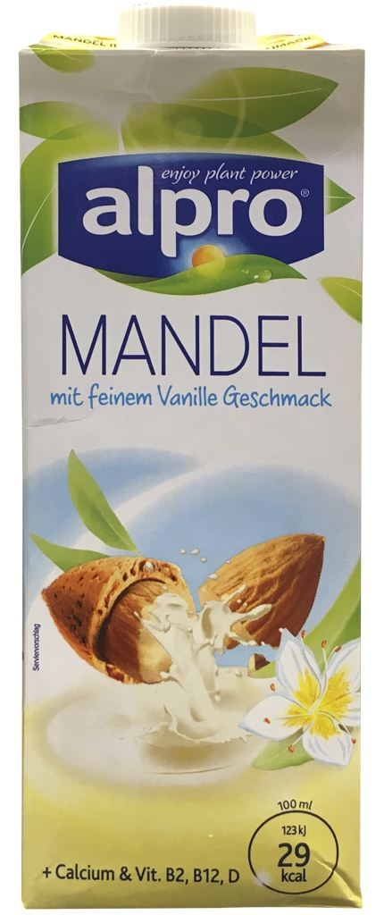 alpro Mandel mit Vanillegeschmack