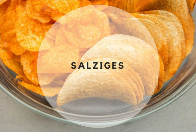 Heisshunger auf Chips oder andere salzige Lebensmittel
