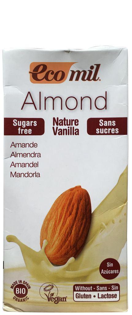 ecomil Mandel Nature Vanilla zuckerfrei
