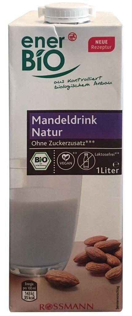 Rossmann enerBio Mandeldrink Natur ohne Zuckerzusatz
