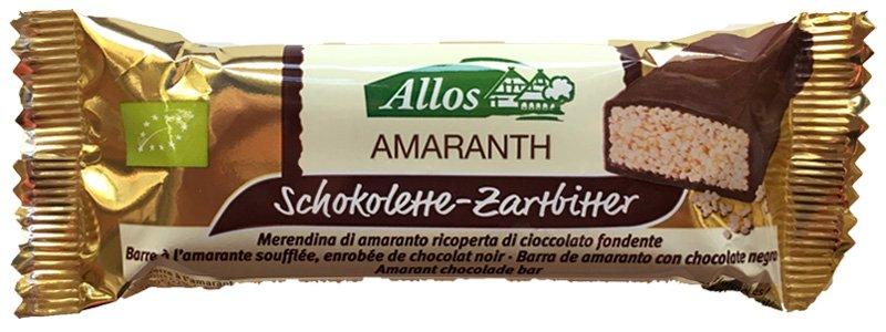 Allos Amaranth Schokolette-Zartbitter