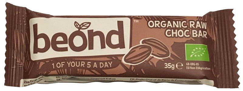 Beond Organic Raw Chocbar