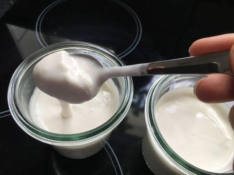 So muss ein Joghurt aussehen! :)