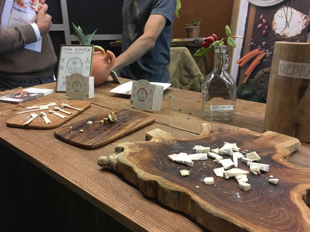 Veganer Käse von New Roots - lecker!!