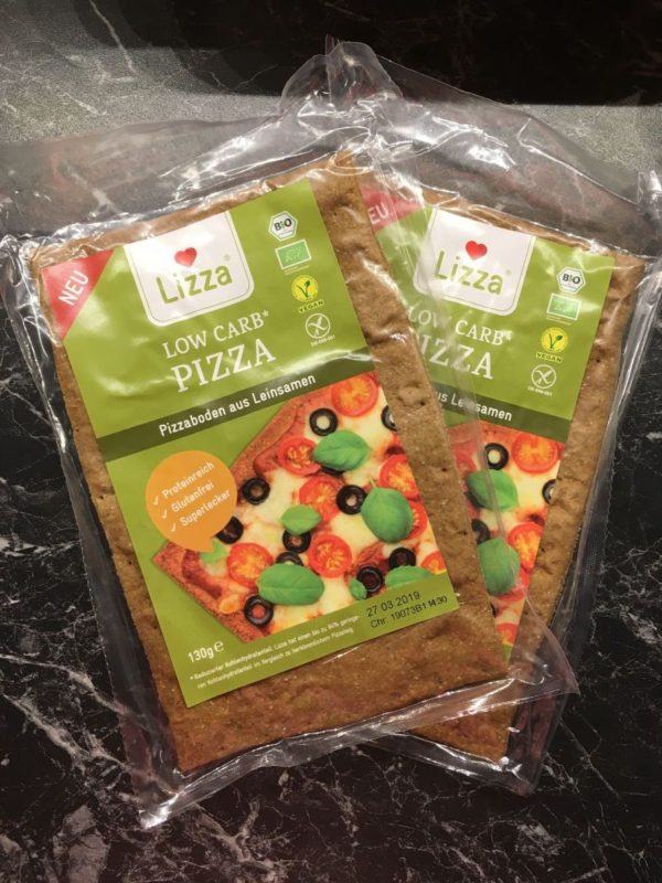 Lizza Low Carb Pizza - der glutenfreie Pizzaboden