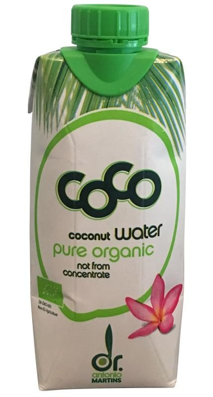 Dr Antonio Martins Coconut Water pure organic