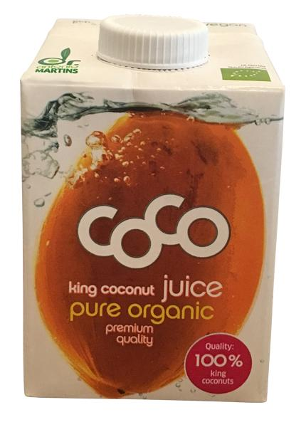 Dr Antonio Martins King Coconut Juice pure organic premium