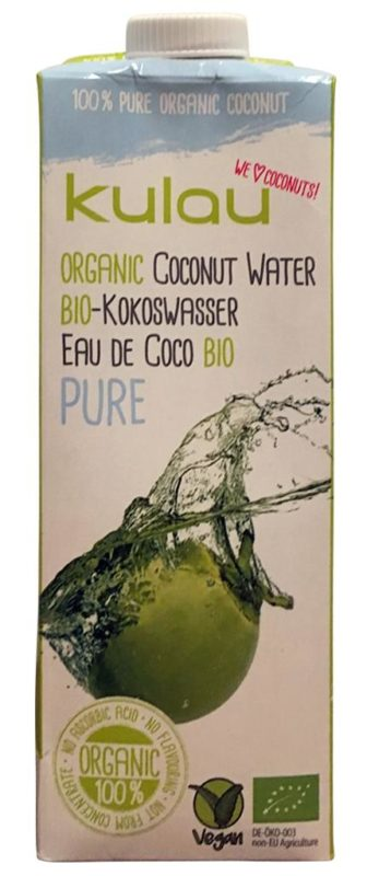 Kulau Bio-Kokoswasser Pure