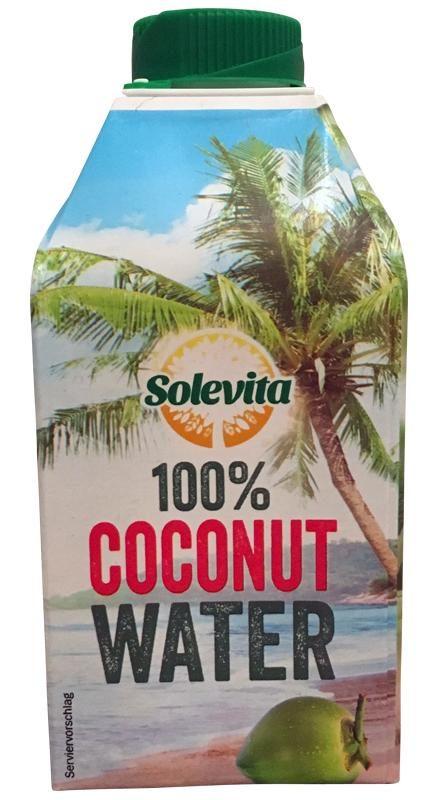 Solevita 100% Coconut Water (Lidl)
