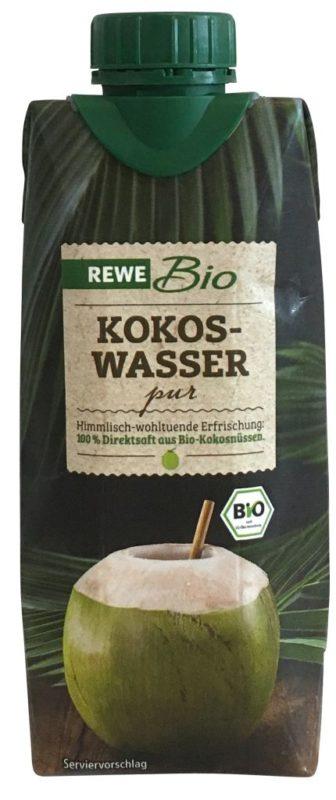 REWE Bio Kokoswasser pur