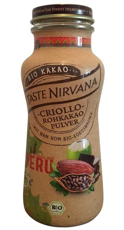 Taste Nirvana Criollo - Kokoswasser mit Kakao