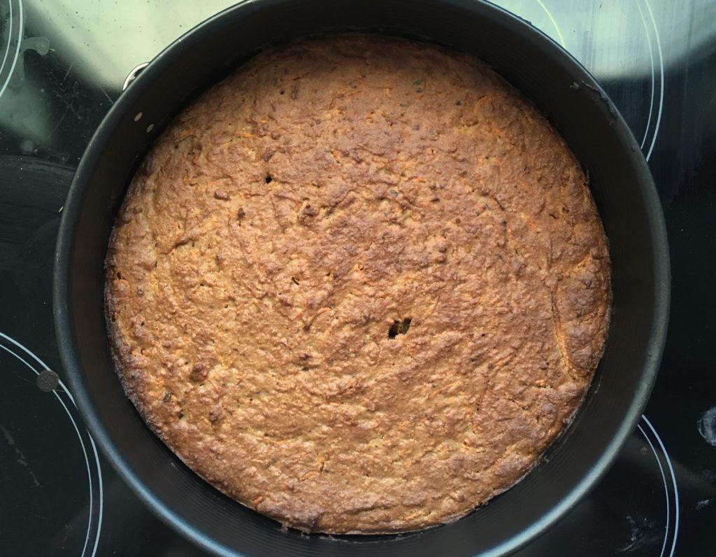 Fertig gebacken und gut gebräunt ;)