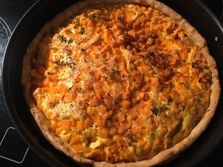 Vegane Quiche mit Seidentofu - nicht nur zu Ostern