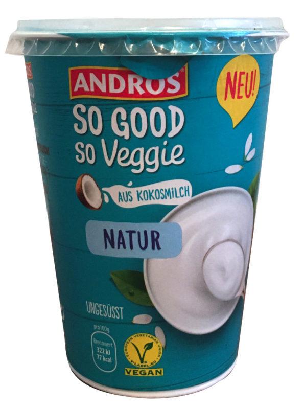 Andros So Good So Veggie aus Kokosmilch